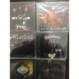 Cds Originales Rock Black, Death Y Mas...v.a. Rush.