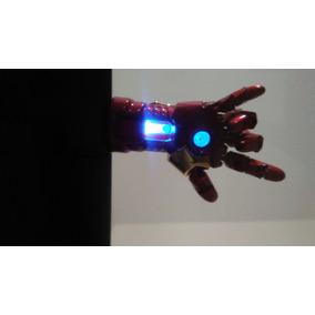 Pendrive Iron Man Homem De Ferro 8 Gb - Mão Com Led