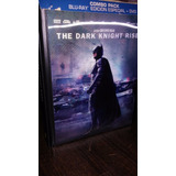 The Dark Knight Rises 3 Dvds Bluray