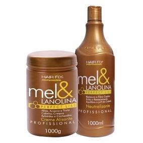 Creme Alisante Mel & Lanolina Hair Fly E Cond Neutralizante