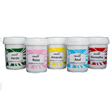 Corante Gel Alimentícios Kit C/12 Cores Variadas Docecor