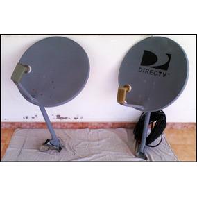 Antena Directv Completa + 21 Metros De Cable Rg-6