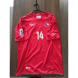 Camiseta Utileria Mundial 2010 Matias Fernandez, Sudáfrica