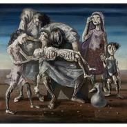 Gravura Poster Obra Criança Morta 60x65cm Enfeite Para Sala