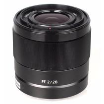 Sony Fe 28mm F/2 Full Frame, Garantia Sony, Envio Imediato !