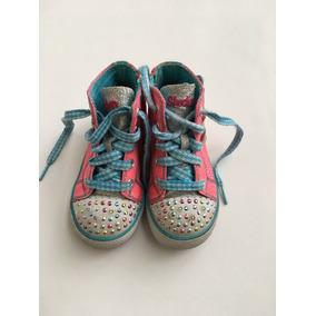 Zapatillas Botitas Skechers-usa- C/luces-t.24