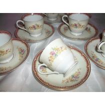 Juego De Café Para Seis Porcelana Japonesa