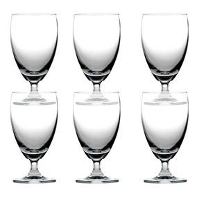Juego 6 Copas Cristal Agua Jugo Prinz