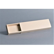 Caja Fosforera Rectangular Alargada Grande 26 X 6,5 X 3,4 Cm (x 50 U.) 18 Bombones Trufas Chocolate Accesorios- Bauletto