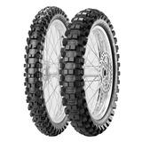 Cubiertas Pirelli Cross 80 100 21 + 110 100 18 Mx Extra Sti