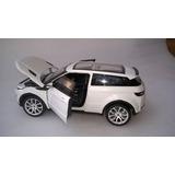 Land Rover Evoque Roja O Blanca A Escala 1:24 Metalica