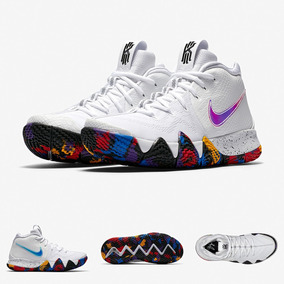 Zapatillas Nike Kyrie Irving 4 Negro White Multicolor 2018
