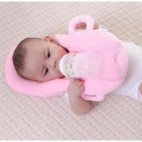 Porta Mamadeira Com Travesseiro Material Plush Importado