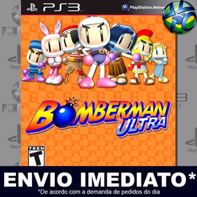Bomberman Ultra Ps3 Mídia Digital Psn Promoção