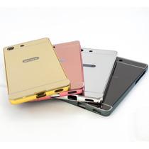 Funda Selfie Sony Xperia Z5/z3/m5/m4 Bumper Aluminio Espejo