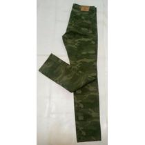 Pantalon Hollister Skinny Entubado Talla 34x32 Nuevo