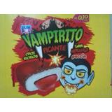 Chicle Vampirito Morango Picante- 320 Unidades 08 Caixas