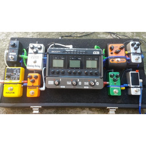 Set Setup De Pedais De Guitarra Completo