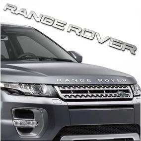 Emblema Range Rover Evoque Sport Vogue Capô Prata Fosco