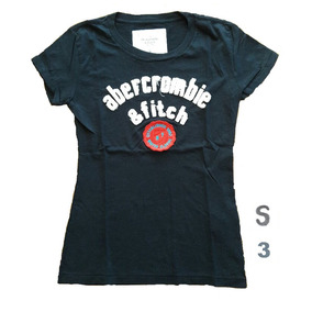 Abercrombie & Fitch Mujer Hollister Remera Talle Sml Algodón