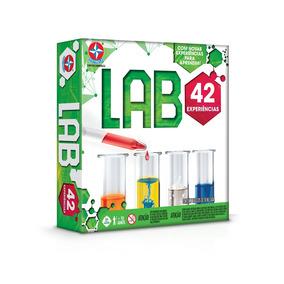 Lab Kit De Experiências - 42 Experiências - Estrela