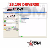 Software Potenciacion Ecm Titanium 2017 Con 26.106 Drivers