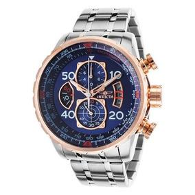 Reloj Invicta Aviator Acero Inoxidable P/hombre 17203