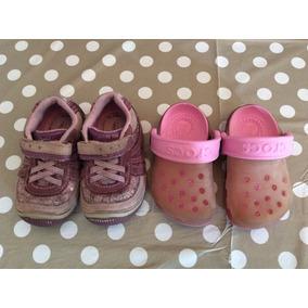 Se Venden Hermosos Zapatos Y Cholas Crocs Talla 5m