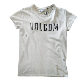 Volcom Remera Trimmer Bicolor - Mujer