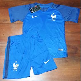 Conjunto Camiseta + Short - Seleccion Francia - Niños