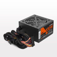 Fuente Pc Gamer 650 Watts Lnz Mallado Cooler 120mm 6 Pines