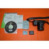 Cámara De Fotos Canon Sx500is Manual-cd-2 Baterías-cargador