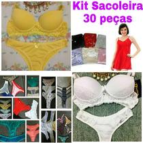 Kit Sacoleira 35 Peças Atacado Revenda