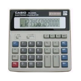 Calculadora 12 Dígitos Casio Ds-200ml