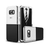 Forro Case Galaxy S8 Plus Antigolpe Diseño Dual Color