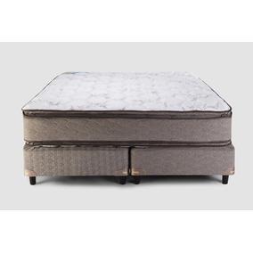 Sommier Y Colchón Suavestar Boreal Pillow Top 160x200 Queen