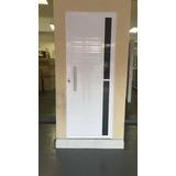 Porta Lambril C/puxador Alum. Branca 2.10 X 0.80