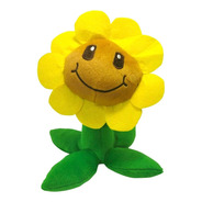 Peluche Plants Vs Zombies Juguete Sunflower Girasol 26cm
