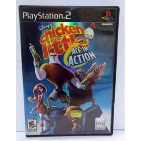Chicken Little Ace In Action Ps2 Completo Retromex Tcvg