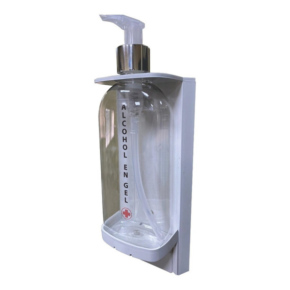 Dispenser Abby Jabon Liquido, Alcohol Gel Recargable Pared
