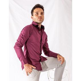 Camisa Vestir Casual Caballero