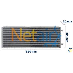 Condensador Maquina John Derre Trator/ Komatsu (sist Reddot)
