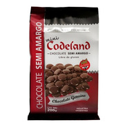 Chocolate Semi Amargo Mini Codeland X 200 Grs