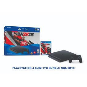 Ps4 Slim Playstation 4 - Com Nba 2k18