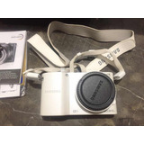 Cámara Semiprofesional Samsung Nx1000 Blanca