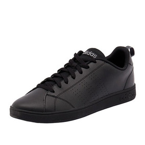 Tenis adidas Vs Advantage Cl 22.5-25 Negro Mono Originales