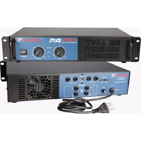 Amplificador De Potência New Vox Pa-600