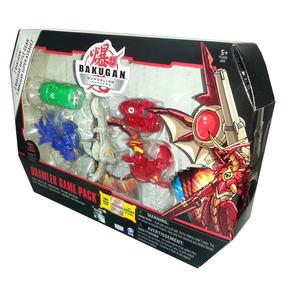 Bakugan-series 3 Brawlers Game Pack Modelo A T64357