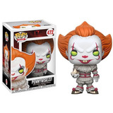 Funko Pop Pennywise With Boat It Eso El Payaso Stephen King
