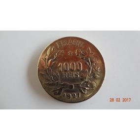 L.38 - 1 Moeda De 1000 Réis - Em Bronze-alumínio De 1927